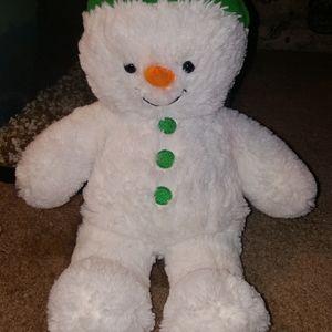 Build A Bear Workshop Snowman 2012 RETIRED